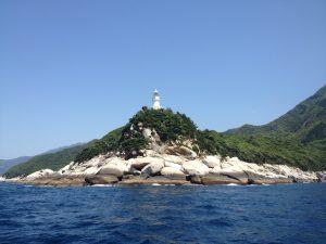 屋久島の先端!屋久島灯台