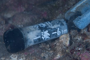 一湊タンク下-8m付近の水温ロガー